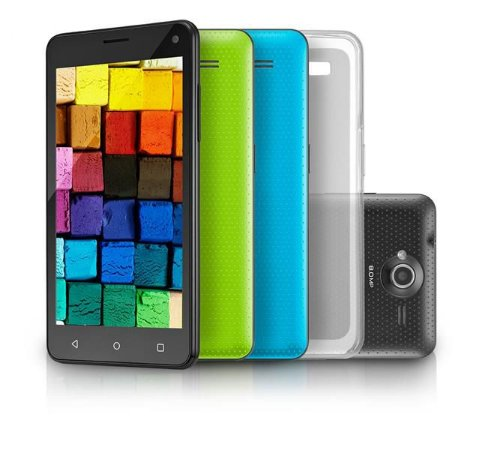 Smartphone MS50 Preto Colors Quadcore 16Gb NB220 Multilaser