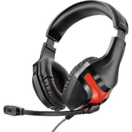 HEADSET GAMER MULTILASER WARRIOR P2 3.5MM PRETO/VERMELHO, PH101