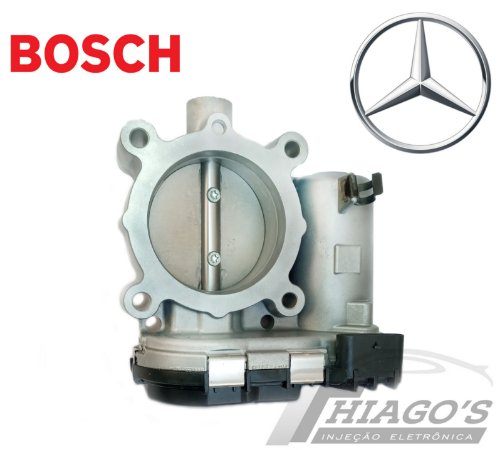 Corpo de borboleta - TBI Mercedes C180 - C200 - A200 1.6 16v - A2701410025 / 0280750541