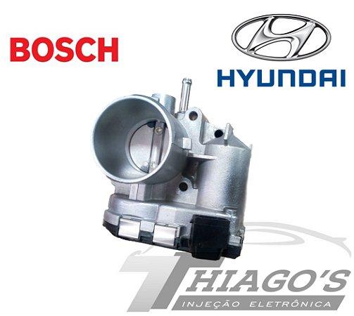 Corpo de borboleta - TBI Hyundai Hb20 / Kia Picanto 1.0 Flex - 35100-04090 / 9045020007