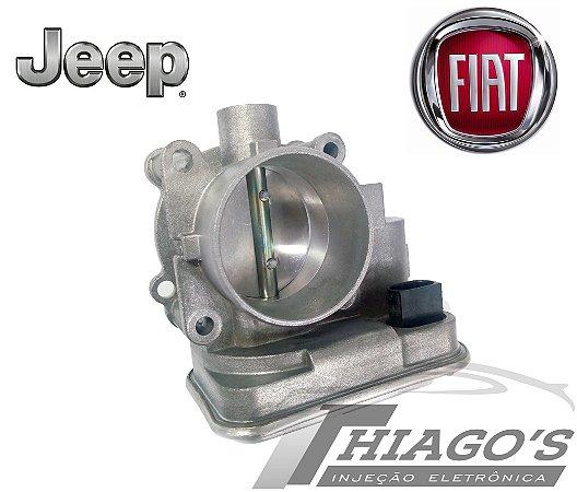 Corpo de borboleta - TBI Fiat Freemont / Jeep Compass 2.0 / 2.4 2007 a 2016 - 04891735AC