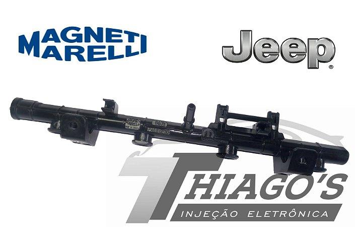 Flauta de combustível  -Jeep Renegade 1.8 16v E Torq Evo -  55259644