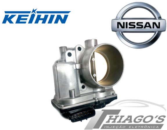 Corpo de borboleta - TBI Nissan Tiida / Livina / Sentra / Versa 1.8 16v Flex - 8WA60-01