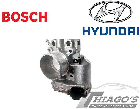 Corpo de borboleta - TBI Hyundai Hb20 1.6 16V - 35100-2B154 / 0280750628