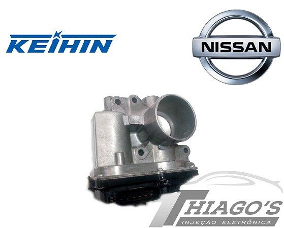 Corpo de borboleta - TBI Nissan March / Versa 1.0 3 Cilindros - 3BA40-01
