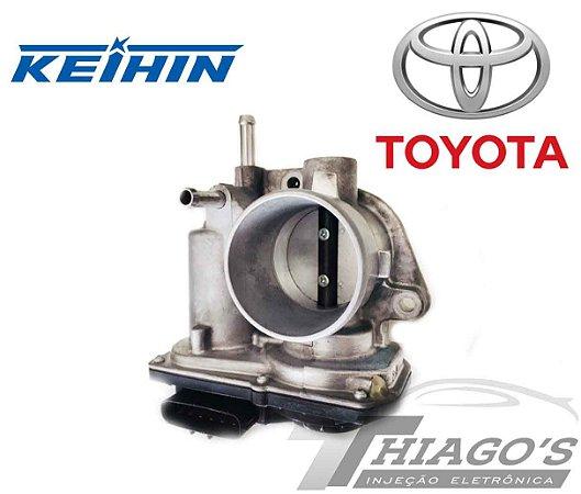 Corpo de borboleta - TBI Toyota Etios 1.3  - 22030-47040