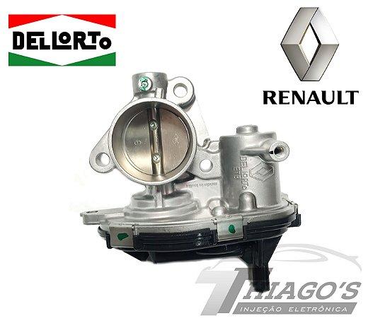 Corpo de borboleta - TBI Renault Kwid 1.0 3 Cilindros - 161208051R - PRODUTO NOVO ORIGINAL