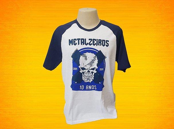 Camisa 10 anos Metalzeiros
