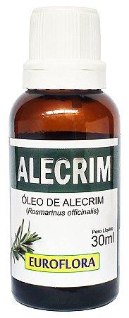 Óleo de Alecrim Extra Virgem 30mL Euroflora