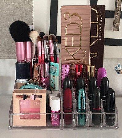 Suporte de Maquiagem De Acrilico Organizador 14
