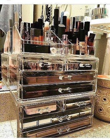 Armario Gaveteiro para Maquiagem de Acrilico Organizador 74