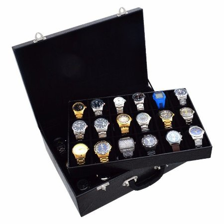 Caixa para 36 Relógios - 3 Cores