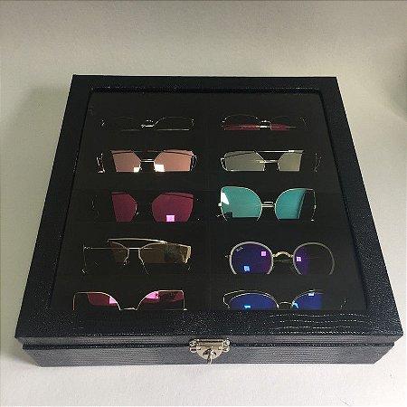 Porta 10 Óculos - 4 Cores