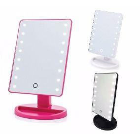Espelho Camarim de Mesa com Leds