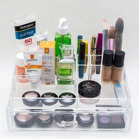 Porta Maquiagem em Acrilico Organizador 122