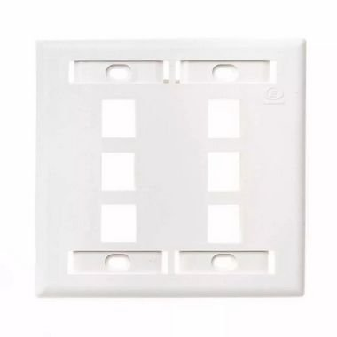 Espelho Plano 4x4 06p Furukawa - Branco