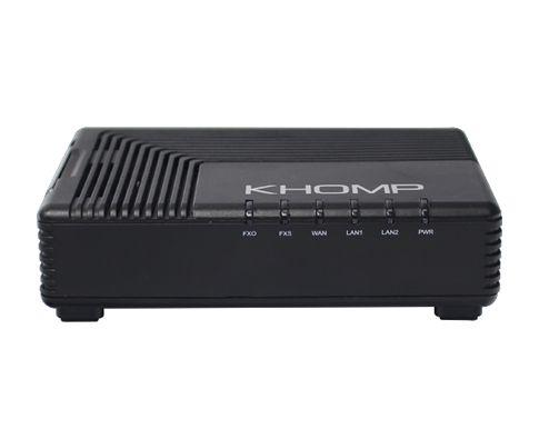 Adaptador VoIP (ATA) c/ 1FXS e 1FXO - Khomp KAP 311
