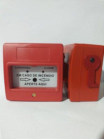 Acionador Manual de Alarme de Incêndio (Convencional)