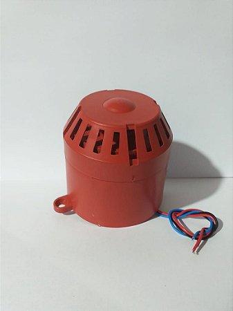 Sirene 12/24v 100dBs para Alarme
