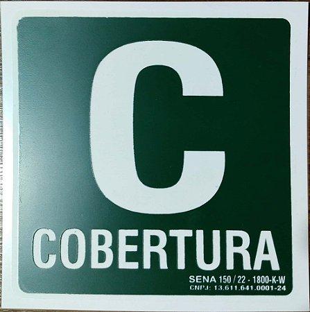 PLACA INDICATIVA DE COBERTURA