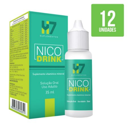 Nicodrink - 12 Unidades