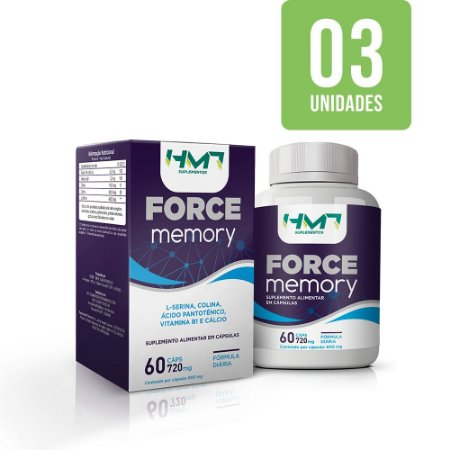 Force Memory - 03 Unidades