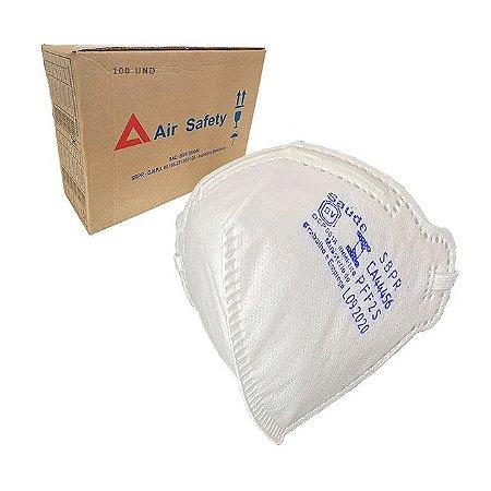 Respirador PFF2 Sem Válvula Caixa com 100 und Equivalente a N95 AirSafety MaskFace CA 44456