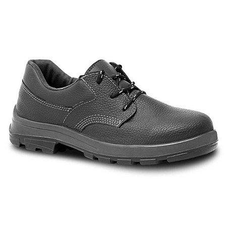 Sapato de Amarrar Fujiwara Linha Usafe em Couro Com Palmilha CA 41858 4098USAS4600US