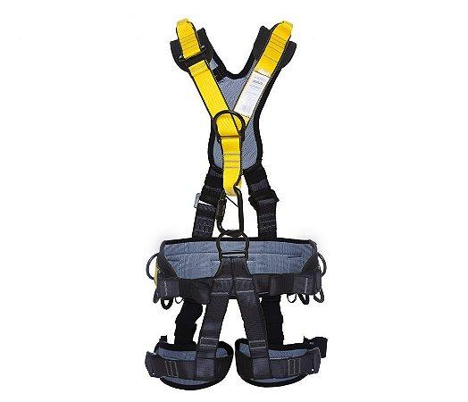 8c43907073ed1 Cinturão tipo Paraquedista 5 Pontos e Proteção Lombar