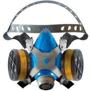 Respirador Semi Facial Completo com dois filtros Vo/Ga