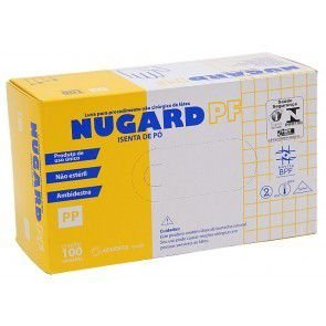 Luva Para Procedimento  Nugard Pf - Isenta De Po - M