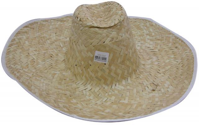 580dd22725 Chapéu de Palha Aba Larga - BH EPI