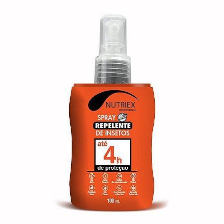Repelente Insetos Ate 4 Horas Prof Spray 100ml Nutriex