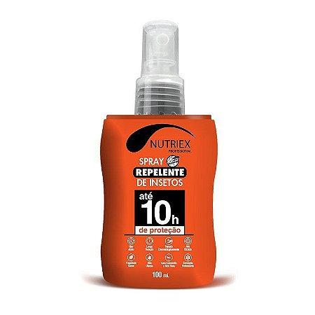 Repelente Insetos Ate 10 Horas Prof Spray 100ml Nutriex