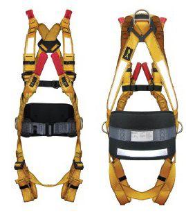 Cinturão Paraquedista para Espaço Confinado com Refletivo 4 Argolas Hercules CA 36649