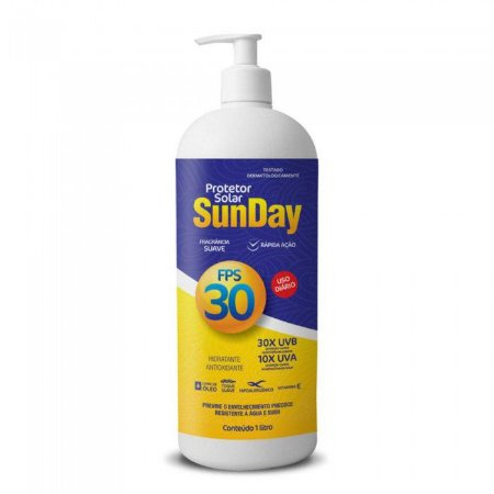 Protetor Solar FPS 30 1L SUNDAY