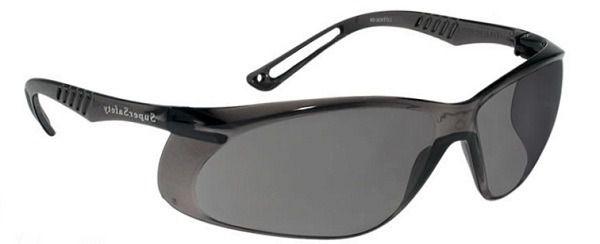 Oculos De Protecao Ss5 Cinza Anti Risco
