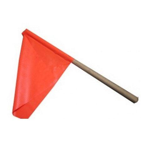 Bandeirola De Sinalização Laranja - 30cm X 35cm