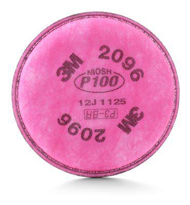 Filtro Mecânico 2096 P3 - Contra Poeiras, Névoas, Fumos e Radionuclídeos 3M