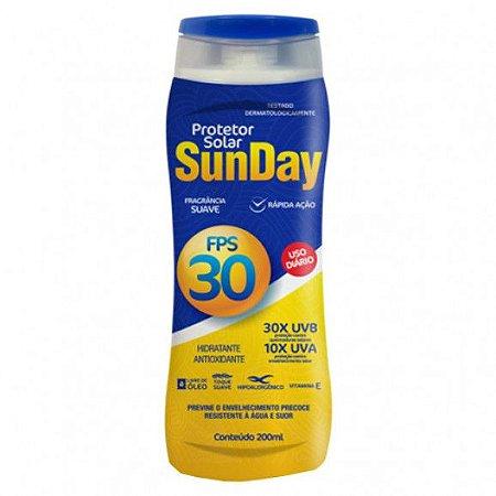 Protetor Solar Fps 30 200ml Sunday