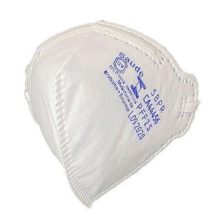 Respirador PFF2 Sem Válvula Equivalente a N95 AirSafety MaskFace  - CA 44456