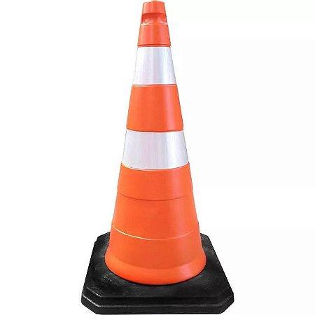 Cone Base de Borracha Pesada Quadrada 4,8kg Ecosinal