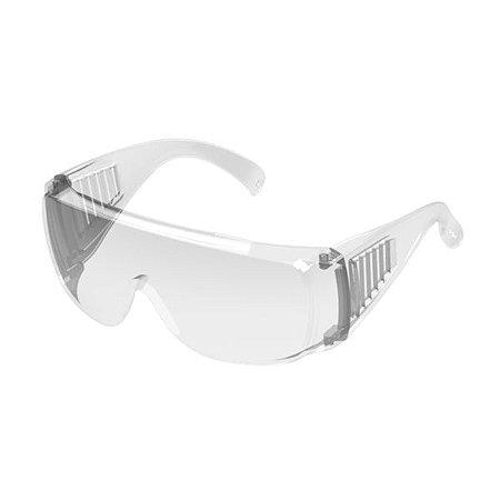 Oculos De Sobrepor Protector Incolor Vale Plast  Ca 40186