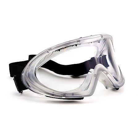 Oculos Ampla Visao Spider Incolor Vale Plast Ca 40957