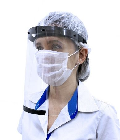 Protetor Facial Face Shield Preto