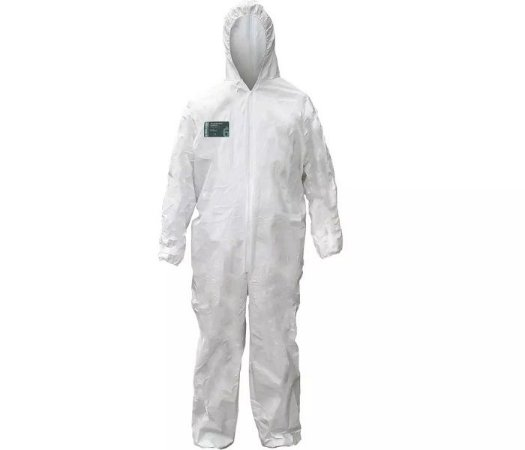 Macacao De Proteção Química Steelgen Vicsa Ca 20662 Tam. M