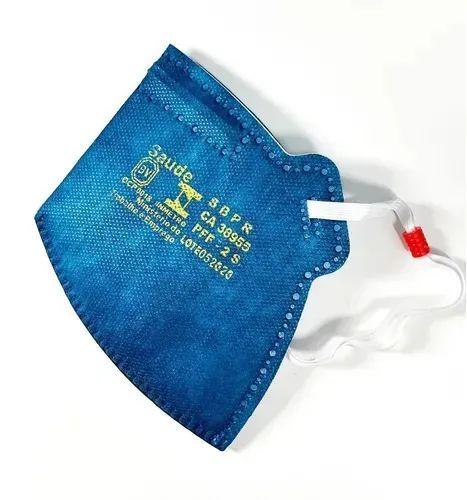 Respirador Pff2 Sem Válvula Azul AirSafety Mask  - CA 38955
