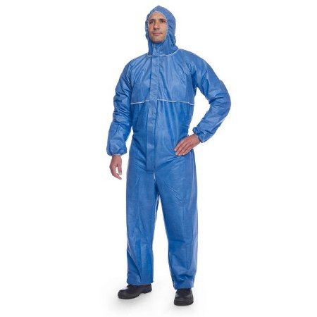 Macacao Quimico Dupont Proshield 20 Blue Pbchf5sbu Azul Royal Tam G- Ca 39344