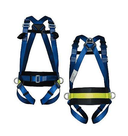 Cinturão Paraquedista Abdominal 4 Pontos com conexão Frontal - Life 2006