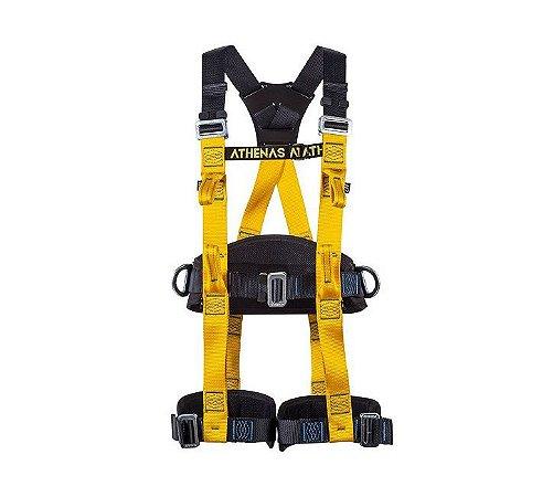 Cinto Paraquedista 4 Pontos Regulagem Total Com Ponto Umbilical  Athenas At 7015 Athos Confort Extreme